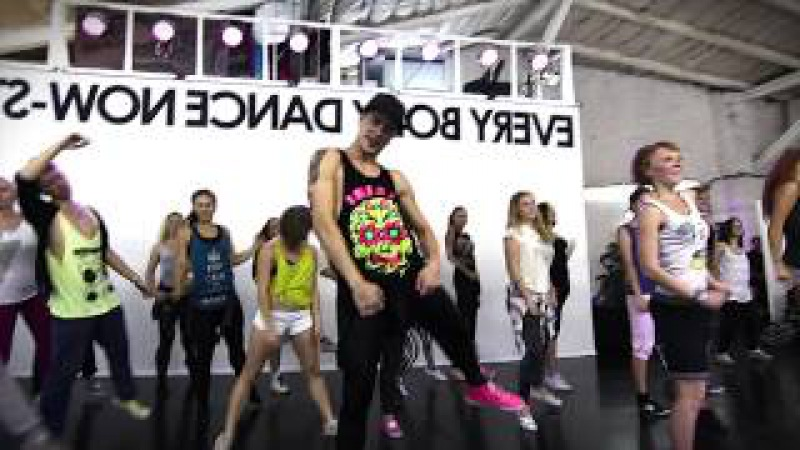 Miley Cyrus - We can`t stop   Jazz-Funk by Vova Sidorkin   STADIA Open Class (filmed by Nik Fever)