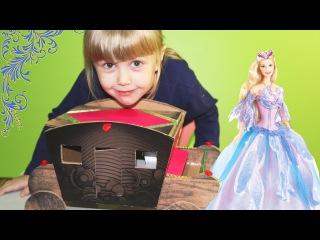Карета для Барби своими руками. How to make a carriage for Dolls