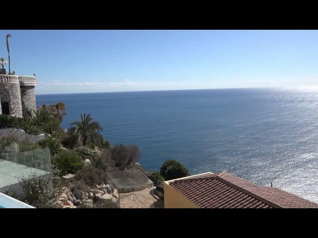 Хай Тек вилла 540 м2 с видом на море в Cumbre Del Sol Морайра Испания Современная недвиж