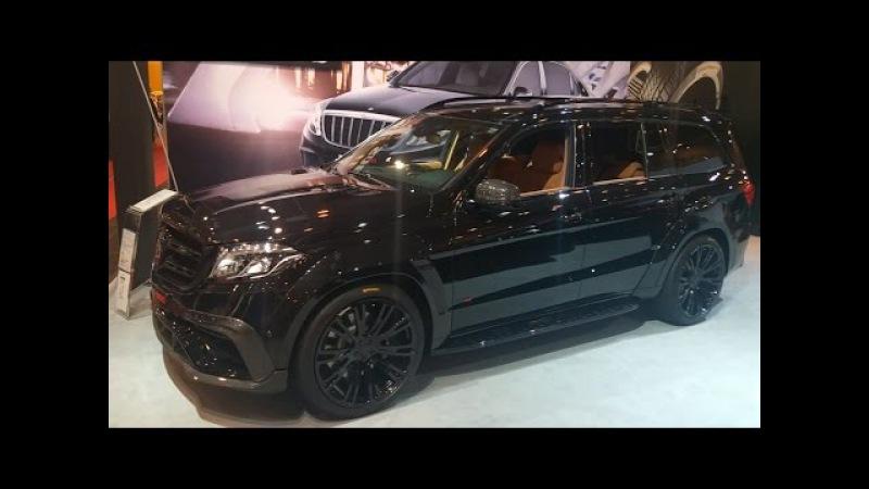 BRABUS 850 BASE Mercedes-Benz GLS 63 AMG 850HP 23 Wheels | Essen Motorshow 2016