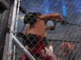 WWF SummerSlam 2001 - The Brothers of Destruction vs DDP and Chris Kanyon (Steel Cage match for the WCW and WWF Tag Team Title)