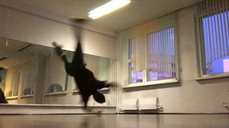 Bboy SirOp practice time. new! 2017