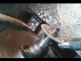 фрезеровка односторонних поливалок на токарном станке1