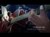 Эд Шульжевский – Красивое счастье по имени Настя (акустическая гитара соло)