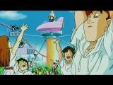 Mr. Satan's intervention Triggers the Completion of Goku's Super Genki Dama