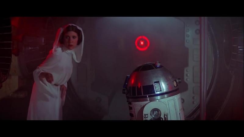 Звездные Войны Эпизод 4 Новая Надежда Star Wars Episode IV A New Hope 1977 Первая Сцена Атака на Посольский Корабль