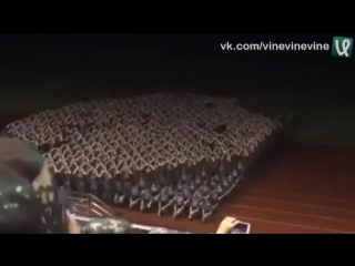 Развлечения девушек в китайской армии