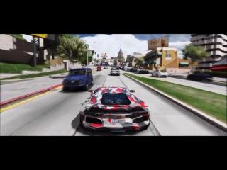 GTA 6 - Невероятная графика MOD! REDUX - Aventador LW - 60 кадров в секунду! Ультра реалистичный!