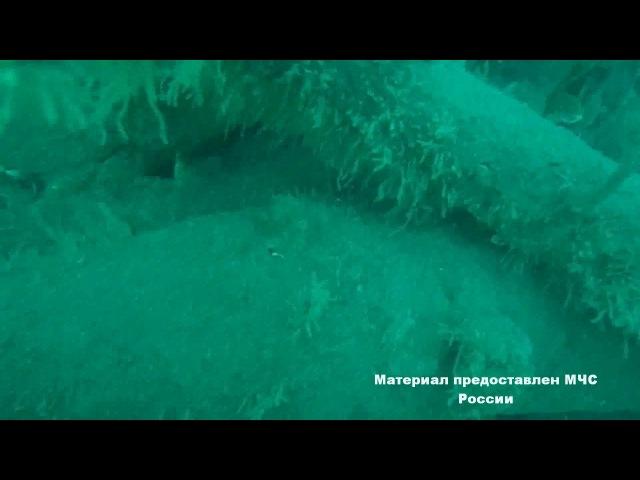 В Сочи в акватории Черного моря водолазы МЧС Росии обнаружили 3 авиабомбы и само