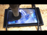 Nintendo Switch Extreme Durability Test w/ A 60,000 PSI Waterjet