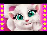 Кошка Анжела грязнуля! Мультфильм про кошечку. Развивающий мультик для детей.