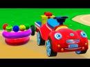 Развивающий мультик для детей от 3 до 5 лет. Мультик про машинки