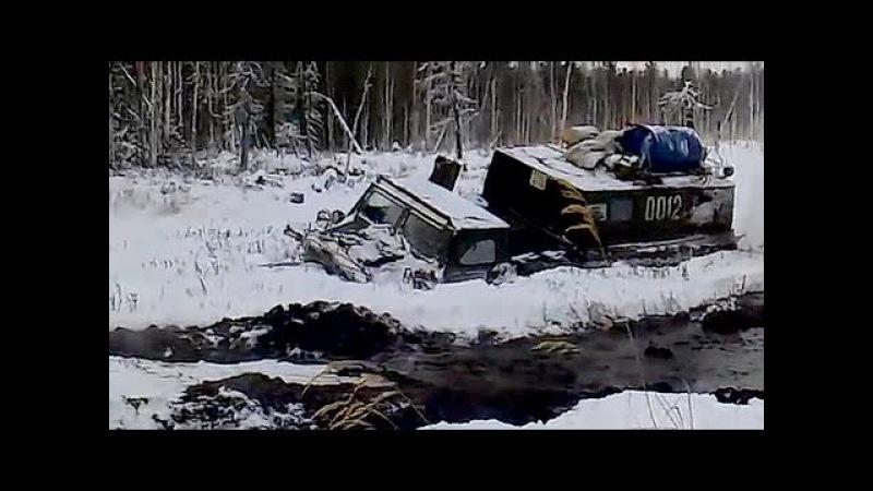 ГТ-МУ (ГАЗ-73), ГТ-СМ (ГАЗ-71) Газушки продолжают наматывать бездорожье на траки! Подборка