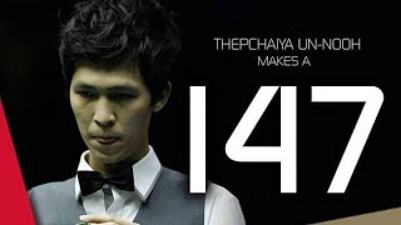 Thepchaiya Un-Nooh makes 147 at Paul Hunter Classic 2016