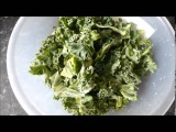 Чипсы из капусты кейл  kale chips