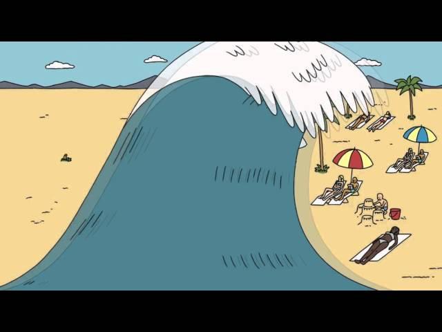 Как происходит цунами TED ED