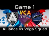 Alliance vs Vega Squadron - WCA 2016 - EU Quals - game 1