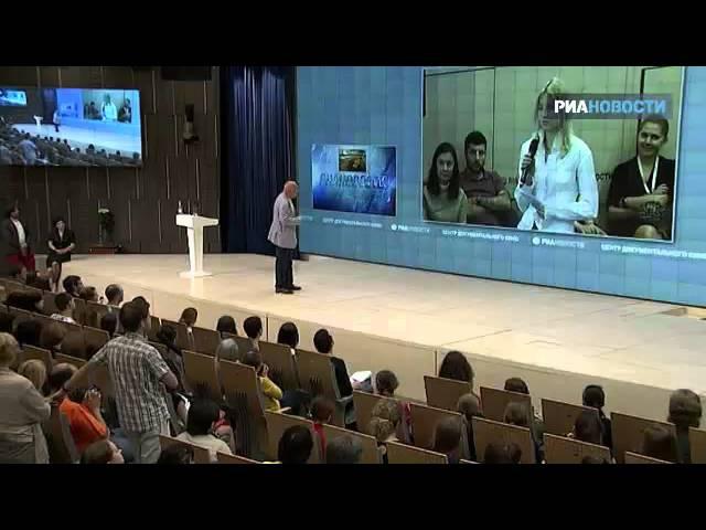 Лекция Владимира Познера о журналистике (2013г.)