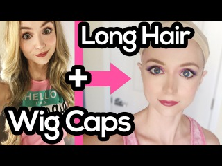 How to Put On a Wig Cap with Long Hair - Quickly!