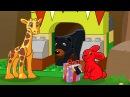 Жираф и зайчик идут на день рождения. Мультик про животных. Lego Duplo Forest. Лего Дупло Лес