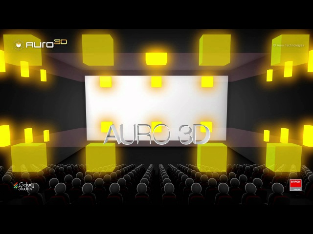 Auro-3D, Barco's 3D sound technology for the digital cinema industry