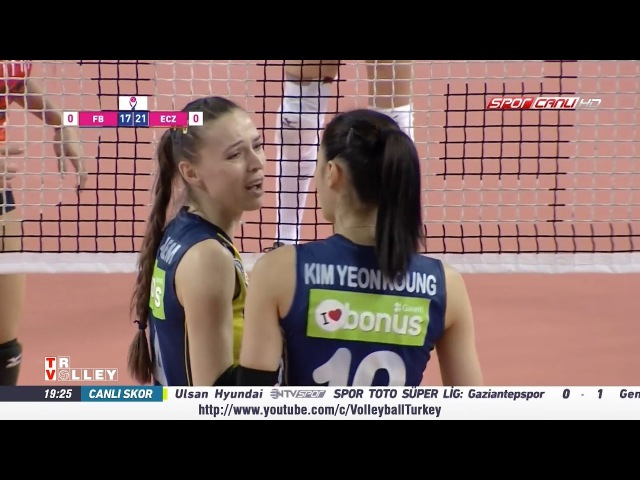 Fenerbahçe - Eczacıbaşı VitrA ( Vestel Venüs Sultanlar Ligi Play-Off - 1/2 Final )