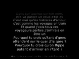 GRAND CORPS MALADE - LES VOYAGES EN TRAIN Paroles