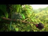 Самый смешной мультфильм 2 'Жадный хамелеон!!!' Funny cartoon ' Greedy Chameleon !!! '