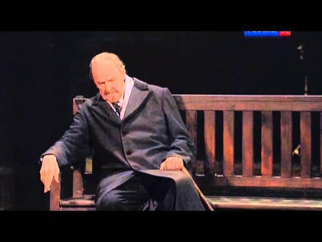 Юрий Яковлев. Последняя роль в спектакле Пристань