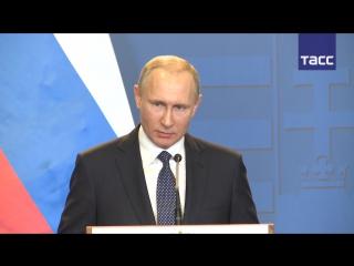 Владимир Путин назвал причины обострения ситуации на Украине