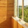 Обшивка и отделка балконов вагонкой в Саранске