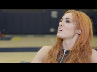 Chris Vernon gets a lesson from Becky Lynch Memphis Grizzlie-1