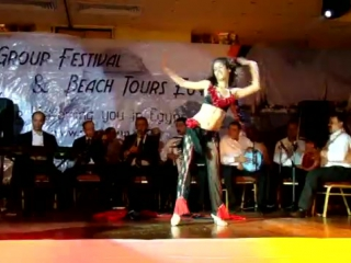 Martina Cancio Brazilian Belly Dancer Nile Group Festival Egypt 2009. 4395