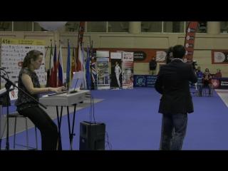 Этап Кубка Мира в Барселоне (2017). Финалы и полуфиналы, женщины, личное первенство. Награждение.