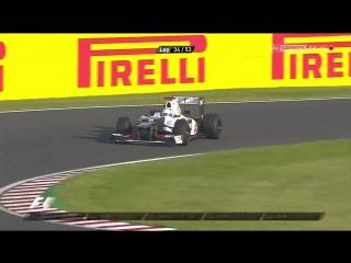 F1 2012. Гран-при Японии. Гонка
