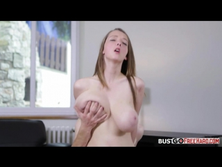 Lucie Wilde riding cock