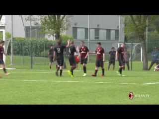 U16 Milan vs Juventus 5-0 #ForzaMilan #weareacmilan