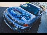 В ТАЧКЕ. Mitsubishi Lancer Evolution IV (4). До 100 за 6 секунд.