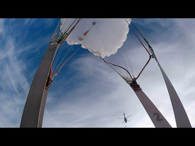 На полігоні під Житомиром резервісти відпрацьовували стрибки з парашутом з вертольоту - Житомир.info