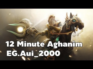 Keeper Of The Light Jungle 12 Minute Aghanim By EG.Aui_2000