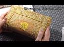 Прикладная вышивка по пластиковой канве. Косметичка Золотая осень