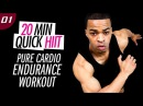 20 Min. Pure Cardio Endurance HIIT Workout | 20 Min. Quick HIIT 01