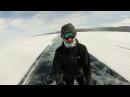 На коньках по льду Байкала | Skating on the Baikal ice