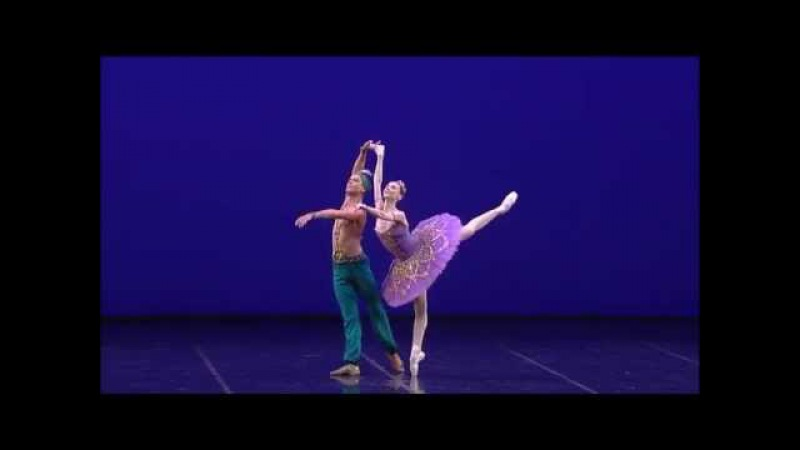 Па-де-де из балета Корсар (С.Захарова, Л.Сарафанов) Ла скала 2015