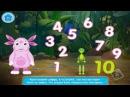 Мульт - Игра Учим цифры вместе с Лунтиком Учимся считать