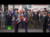 Владимир #Путин вручил Тульскому суворовскому военному училищу знамя