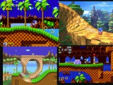 All Green hill zones in Sonic games (1991-2017) HD