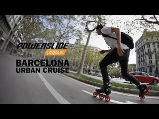 Barcelona Urban Cruise - big city Freeskate action on Powerslide Inline Skates
