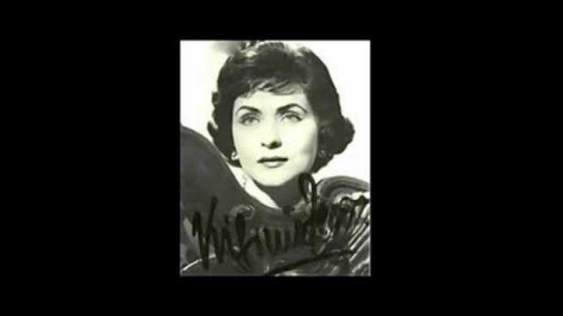 Virginia Zeani Merce, dilette amiche I Vespri Siciliani