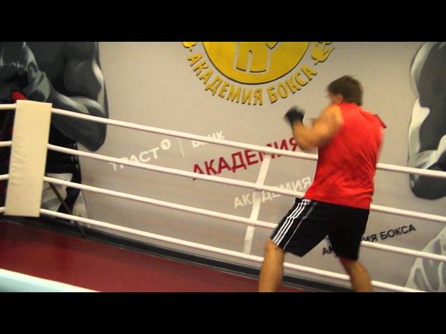 Урок бокса от Олега Маскаева